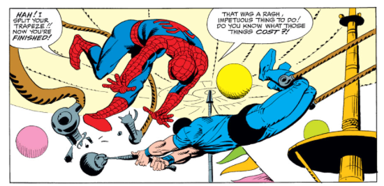 Amazing Spider-Man 16 Spider-Man Vs acrobat