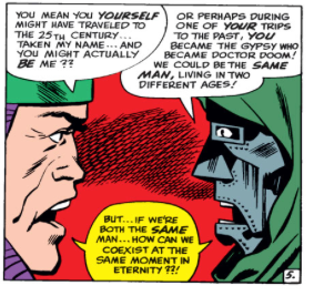 Doctor Doom and Rama-Tut Agree they are the same person