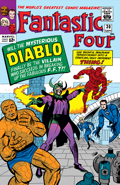 Fantastic Four #30 Cover