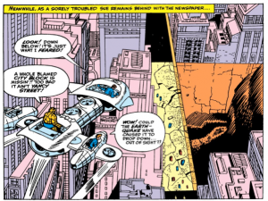 Mole Man Steals City Block In Fantastic Four 31