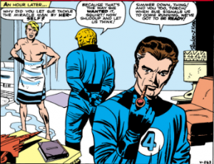 Fantastic Four 3 panel
