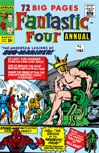 Fantastic Four Annual 1#