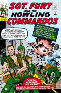 sgt fury and his howling commandos issue 1 - May 1963