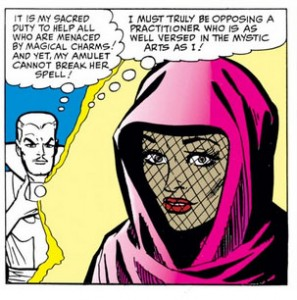 dr-Strange-helps-lady-from-nowhere-in-Strange-Tales-124
