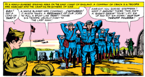 Prisioners of War captured by Sgt Fury And His Howling Commandos