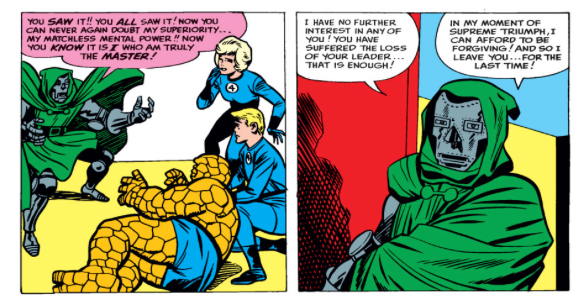the final victory of Dr. Doom