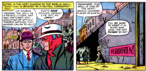 Giant-Man at the Berlin wall