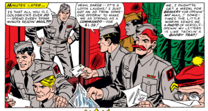 Howling Commandos In Proper Uniforms