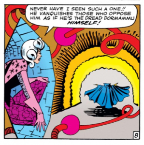 dr strange and the mistery woman