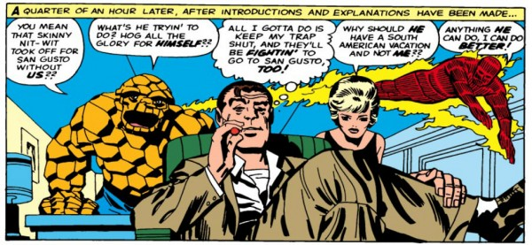 Nick Fury and the Fantastic Four