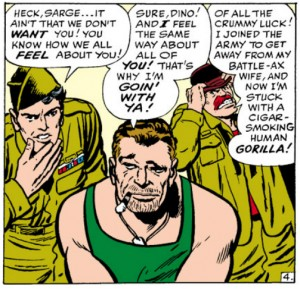 Sgt Nick Fury Cares about his men