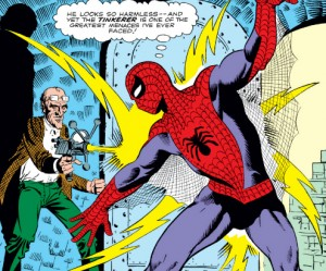 spider-man and the tinkerer